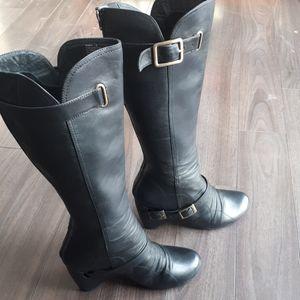 Miz Mooz Women's Sunny Boot ( Black -8)